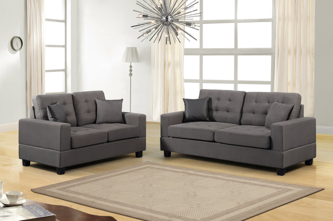 Chic Couch And Loveseat Set Enchanting Gray Sofa And Loveseat With ,simmons  Harter Sofa With Box Seat Cushions And Enhanced Seating With , Duchess Sofa  And ...